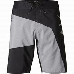 Geometric pattern board shorts for men, OEM supported