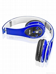 2015 stereo retractable and foldable wireless bluetooth headphone