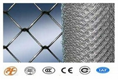 Haotian Low Price Galvanized Chain Link Fence