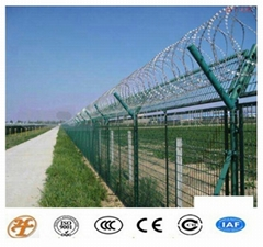 High Quality and Low Price Galvanized Razor Barbed Wire Fence