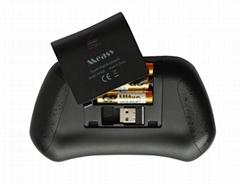 美誉新推出的鼠标键盘结合的游戏飞鼠