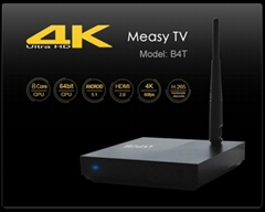 Measy B4T Android 5.1 4K TV BOX RK3368 Octa Core 1GRAM 8G ROM  Bluetooth 4.0