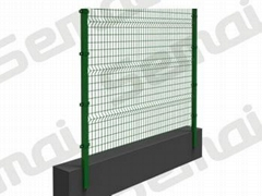 Bending Fence with Square Post