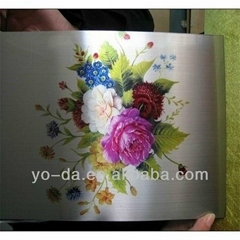 metal sheet digital flatbed UV printer