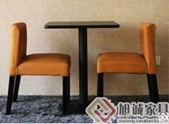 港式茶餐廳桌椅款式