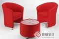 定製咖啡廳布藝沙發 3