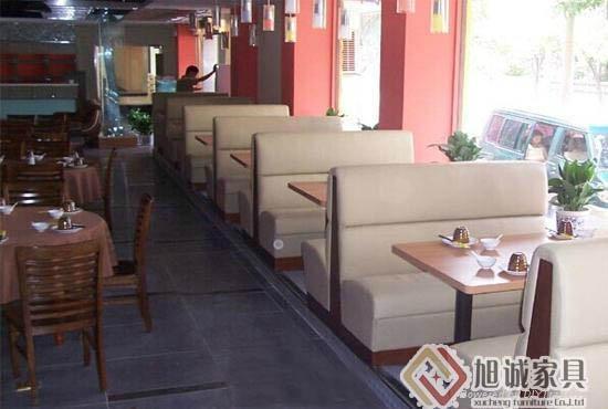 深圳西餐廳卡座沙發, 2