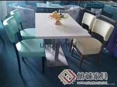 廠家直銷茶餐廳桌椅定製