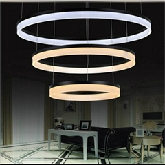 Modern led pendant light for home 3 circles led pendant lighting