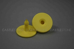 Colorful RFID animal tag accept OEM from Castlestone