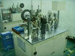 锂电池铝镍带自动点焊机