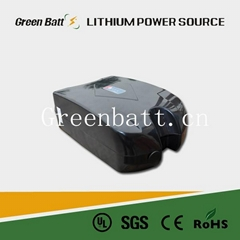 24V 10AH frog rechargeable lithium ebike battery