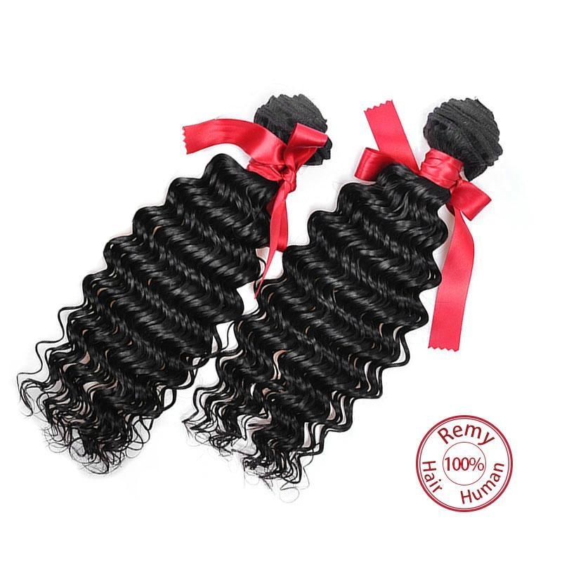 EVET Malaysian Kinky Curly Virgin Hair 3 Bundles Human Hair Natural Color Malays 4