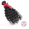 EVET Malaysian Kinky Curly Virgin Hair 3 Bundles Human Hair Natural Color Malays 2