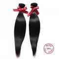 EVET Virgin Straight Hair Malaysian Weaves Bundles  Straight Malay 5