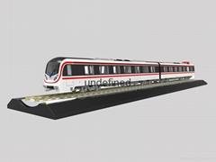 1:48 Metro Subway Train Model