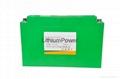 Electric sightseeing car 100Ah battery not lead acid batteries 1