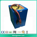 High discharge rechargeable storage