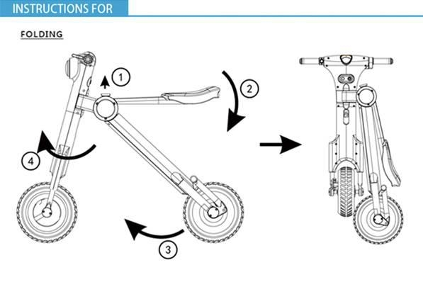 Mini Electric Motorcycle 5
