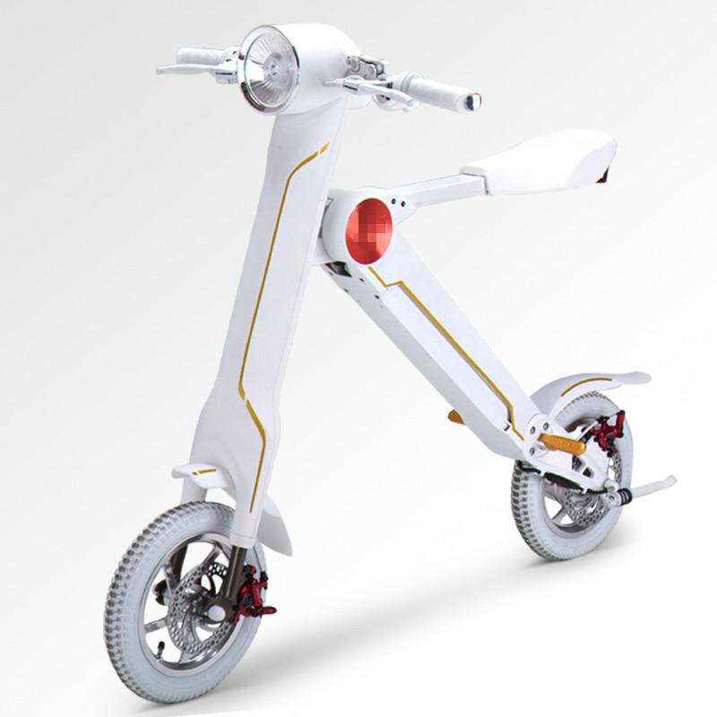 Export USA Foldable Electric Scooter Electric folding bike K1 18kg for adults 4