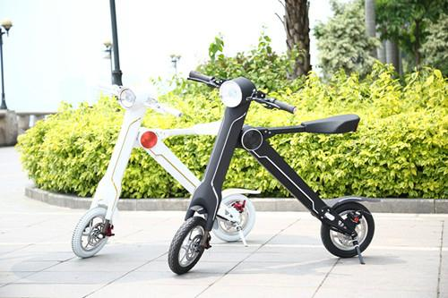 Export USA Foldable Electric Scooter Electric folding bike K1 18kg for students 3
