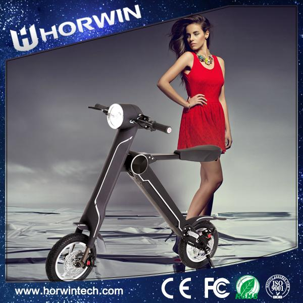 Chinese Foldable Electric Scooter Electric folding bike K1 18kg for you  3