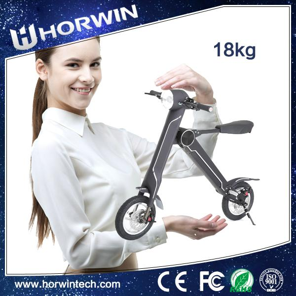 Chinese Foldable Electric Scooter Electric folding bike K1 18kg just for you 2