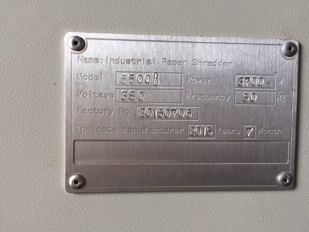 3kW Cross cut 70 sheets industrial heavy duty paper shredder machine 2