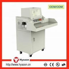 3kW Cross cut 70 sheets industrial heavy duty paper shredder machine