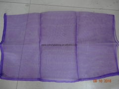 Purple pe mesh bags for packaging garlic