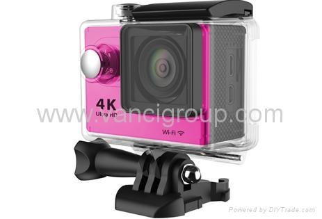 FHD 1080P WIFI Action Cameras 32GB Memory SD Card Li-ion Battery 3