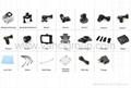 FHD 1080P WIFI Action Cameras 32GB Memory SD Card Li-ion Battery 2