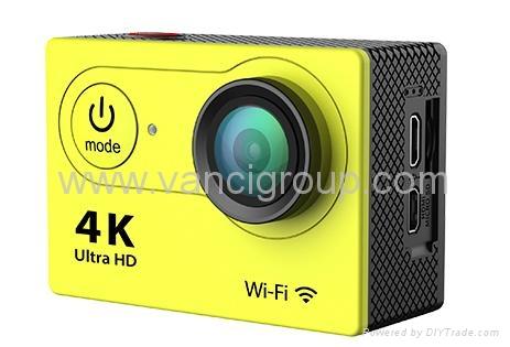 FHD 1080P WIFI Action Cameras 32GB Memory SD Card Li-ion Battery 5