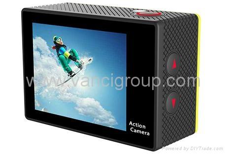 FHD 1080P WIFI Action Cameras 32GB Memory SD Card Li-ion Battery 4