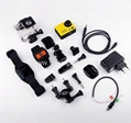 Drone Aerial Action Camera 50m Underwater Wifi 2.0-inch Lcd Larger Image 4