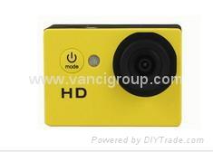 No WiFi Under 20 HD 720P 120 Degree Helmet Action Cameras 1