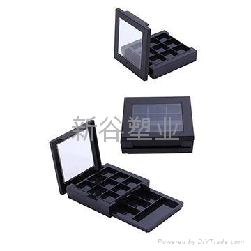 Cosmetic packaging boxes 12 color eye shadow case 2
