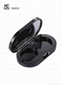 Cosmetic packaging boxes empty eye shadow case  3