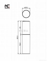 XP4061 新设计唇彩管