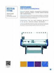 Economical Single System Knitting Machine(SCE131A)