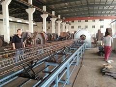 Pole wire cage welding machine