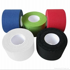 Strong adhesive colored zink oxide sport tape