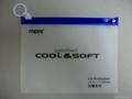 供應PVC立體透明拉鍊袋