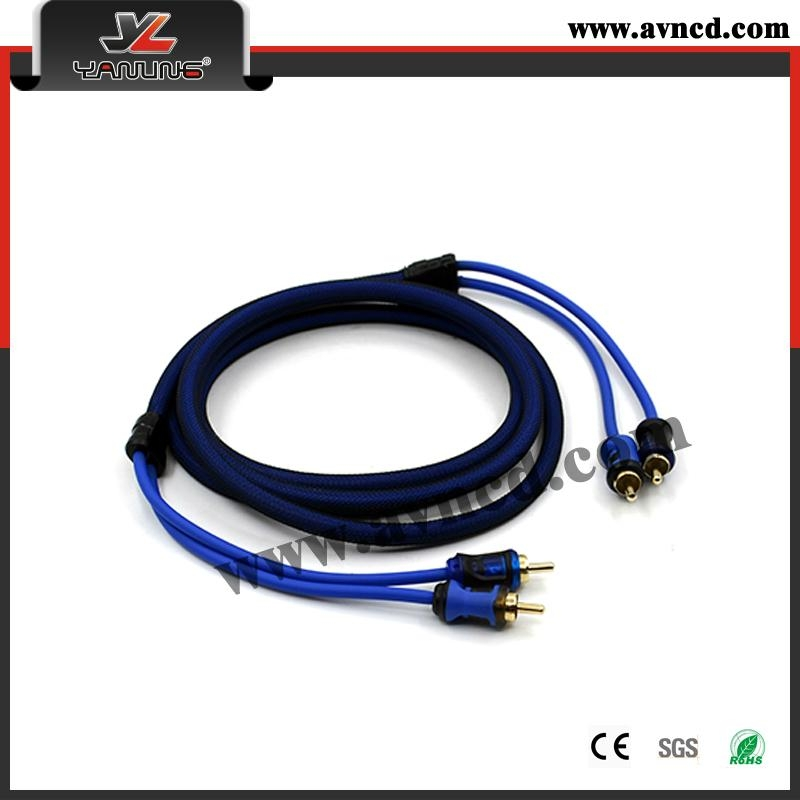 Factory High Performance Single Injection RCA Cable (R-138) 1