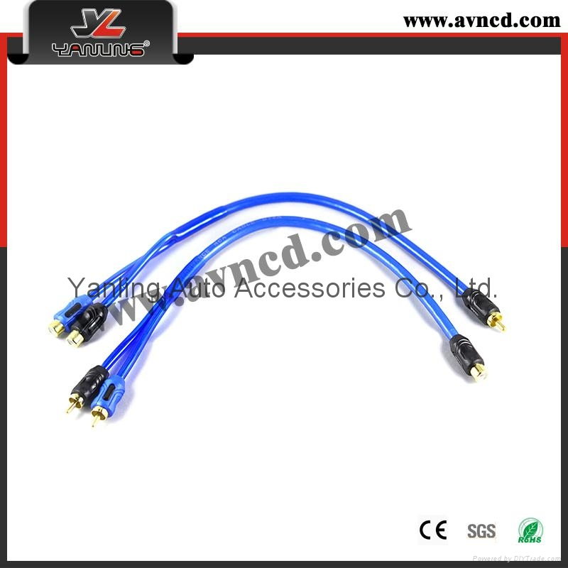 Factory Direct Sales Good Quality Y-RCA Cable 1