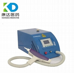 YAG laser eyebrow and eyeliner tattoo removal instrument & machine