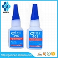 super glue loctit 401 instant adhesive for bonder paper/wood/leather/shoes/phone 2
