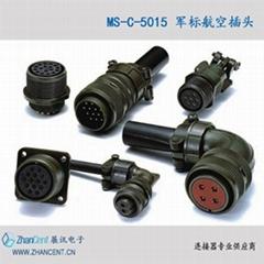三菱M64伺服电机编码器航空插头MS3106A22-14S 19孔