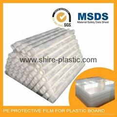 PMMA sheet protective film