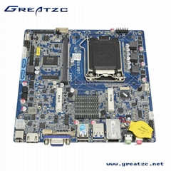 ZC-T81D Intel H81 Motherboard With 8 USB, Double Display Motherboard with LVDS,